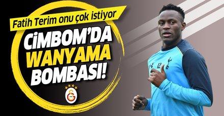 Galatasaray'da Wanyama bombası! Tottenham'a kiralama teklifi  yapılacak...