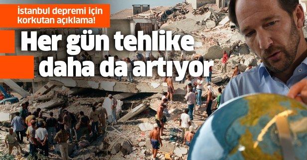 İstanbul depremi için uyardı: Her gün tehlike daha da artıyor