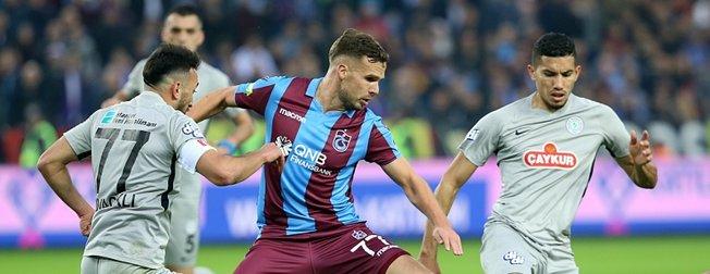 Trabzonspor'un zirve yürüyüşü! ( Trabzonspor 4-1 Rizespor )