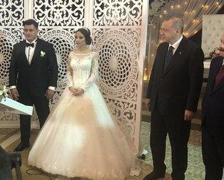 Başkan Erdoğan, Rıza Kayaalp'in düğün törenine katıldı