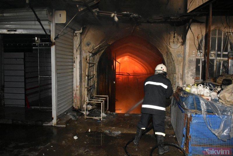 Kerkük'teki Kayseri Çarşısı'nda çıkan yangında milyar dolarlık altın eridi