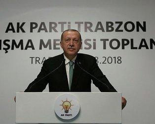 Başkan Erdoğandan kurban bağışı