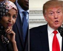 İlhan Omar'ı hedef gösteren Trump'a tepki