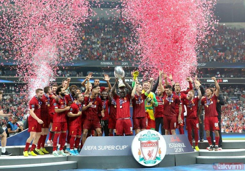 UEFA Süper Kupa Liverpool'un | Liverpool:5 - Chelsea:4 Maç sonucu