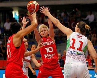 A Milli Kadın Basketbol Takımı, galibiyetle veda etti | Macaristan - Türkiye: 58-59
