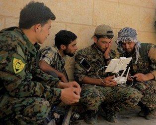 Teröristler ABD öncülüğündeki koalisyondan yardım istiyor
