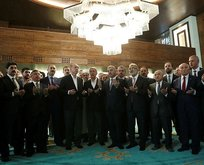 Erdoğan, Orgeneral Hulusi Akar Camiinde Kur'an okudu