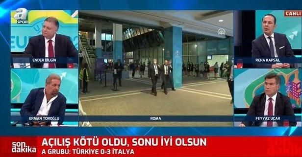 Erman Toroğlu'dan Türkiye - İtalya maçını yorumu
