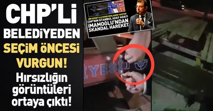 CHP'li Beylikdüzü Belediyesi'nden hırsızlık skandalı