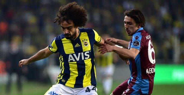 F.Bahçe maçı öncesi Trabzonspor'da sakatlık şoku