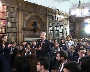 Kemal Kılıçdaroğlundan İngilterede skandal sözler