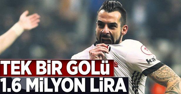 Tek bir golü 1.6 milyon lira
