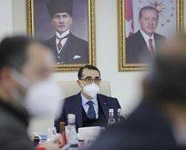 Türkiye-Nahçıvan Doğal Gaz Boru Hattı' mesajı