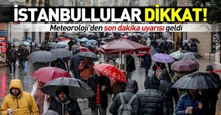 Meteoroloji'den İstanbul için son dakika uyarısı! İstanbul'da kar ne zaman yağacak? 15 Şubat hava durumu