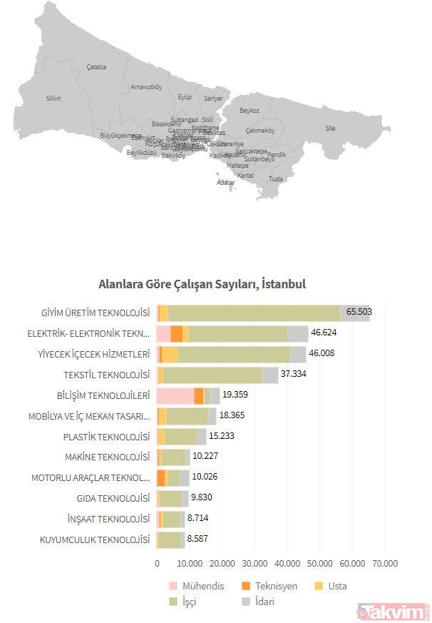 Hangi Ilde Hangi Meslek çok Kazandırıyor Meb Türkiye Mesleki