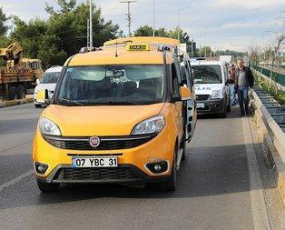 Polis kilometrelerce taksiyi kovaladı
