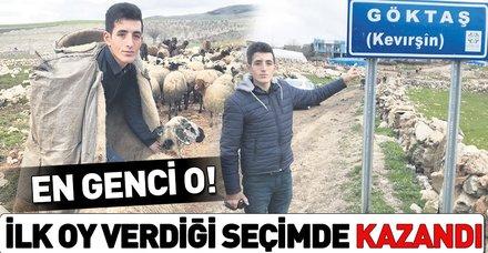 Türkiye'nin en genç muhtarı: Barış Yaşar