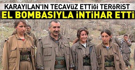 Murat Karayılanın tecavüz ettiği kadın terörist el bombasıyla intihar etti!