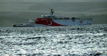 Oruç Reis göreve hazır! Akdeniz'e iniyor...