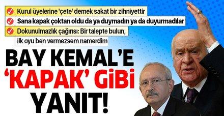 MHP Lideri Bahçeli'den partisinin grup toplantısında önemli açıklamalar