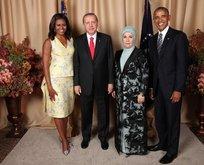 Erdoğan ve Obama çifti aile fotoğrafı çektirdi