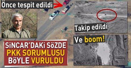 PKKnın sözde Sincar sorumlusu İsmail Özdenin etkisiz hale getirilişi