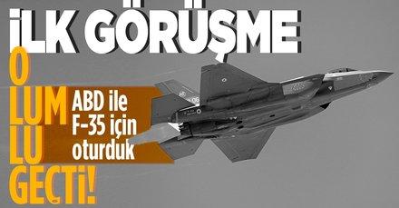 Türkiye-ABD arasında ilk F-35 toplantısı sona erdi