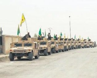 ABD'den YPG'ye zırhlı araçlar