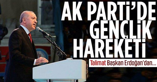 AK Parti'de gençlik hamlesi! Başkan Erdoğan talimat verdi