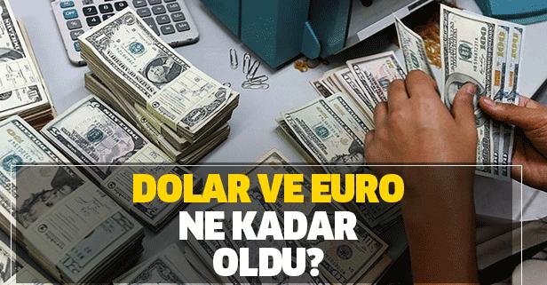 Dolarda hareketlilik! Dolar ve euro ne kadar oldu?