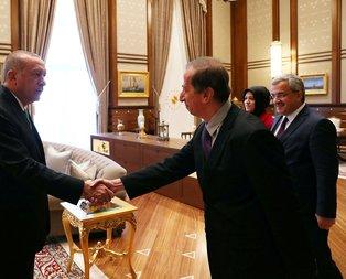 Başkan Erdoğan, dünyaca ünlü yapay zeka profesörü ile görüştü