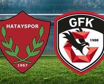 Hatayspor-Gazişehir Gaziantep maçı hangi kanalda?