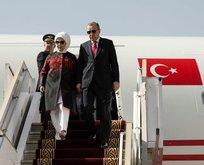 Cumhurbaşkanı Erdoğan Afrika turunun son durağı Tunus'ta