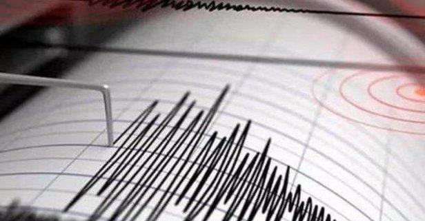 Akdeniz'de 3,9 büyüklüğünde deprem