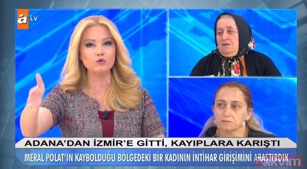 Müge Anlı'da bugün, Meral Polat'ın kaybolmasıyla ilgili kan donduran ifadeler