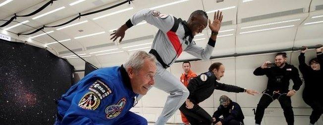 Usain Boltun rakibi bu kez yer çekimi oldu