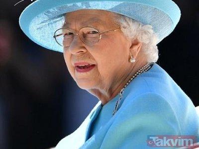 Kraliçe ile görüşebilmek için bakın ne yaptı