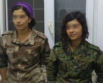 3 PKK'lı kadın terörist teslim oldu