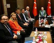Erdoğan ekonominin devlerini kabul etti