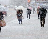 Meteoroloji'den o bölgeye kar uyarısı