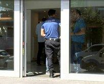 Bayrampaşa'da banka soygunu girişimi