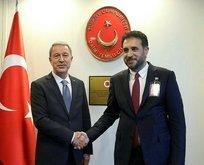 Bakan Akar, Afganistanlı mevkidaşı ile görüştü