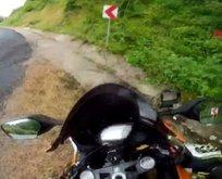 Kastamonu'da feci kaza! Saniye saniye kaydedildi