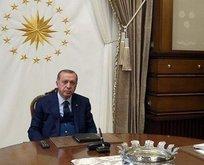 Başkan Erdoğan YÖK Başkanı'nı kabul etti