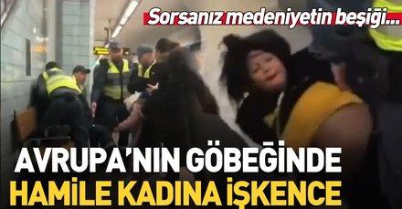 İsveç'te hamile kadına görülmedik işkence!