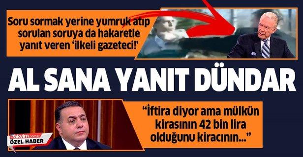 Zafer Sahin Den Soruya Hakaretle Yanit Veren Sozcu Yazari Ugur Dundar A Yanit Takvim