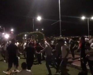 İzmir'de Kordon'daki korona halayına 25 bin lira ceza kesildi!