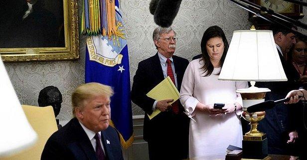 Trump'tan Bolton'a şok suçlama