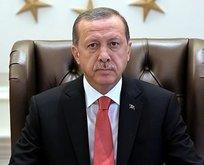 Cumhurbaşkanı Erdoğan'dan Sezgin için taziye mesajı