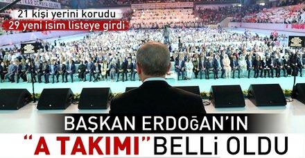 AK Parti'nin yeni MKYK'sı belli oldu! AK Parti'nin yeni MKYK'sında kimler var? İşte AK Parti MKYK listesi